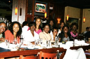 Black women in business brainstorm