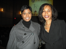 with Editor-in-Chief Essence Magazine, Angela Burt-Murray-FAAN Annual Dinner