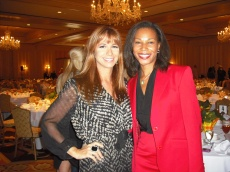 With Reality Star Jill Zahn at the Remarkable Women Luncheon