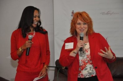 """""""Keeping it Real Discussion, Confident Women Conference 2014, with Kim Carson"""